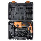 Перфоратор 850 Вт, 3 режима, 0-1100 об/мин, 0-5100 уд/мин INTERTOOL WT-0154, фото 9