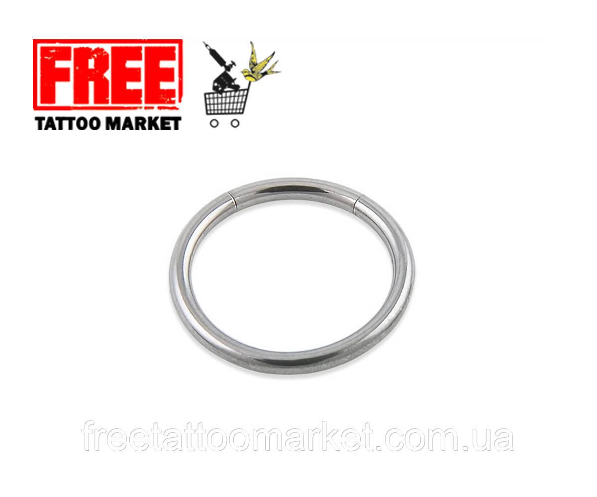 Кольцо сегментное серебро (диаметр 8мм)