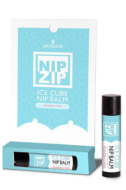 Sensuva - Бальзам NIP ZIP Strawberry Mint 4г