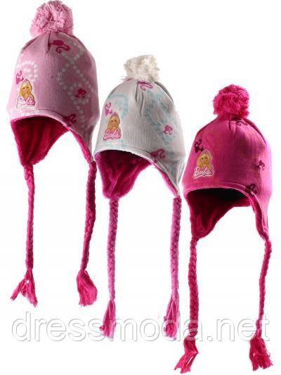 Шапки для дівчаток Barbie 52/54 див.
