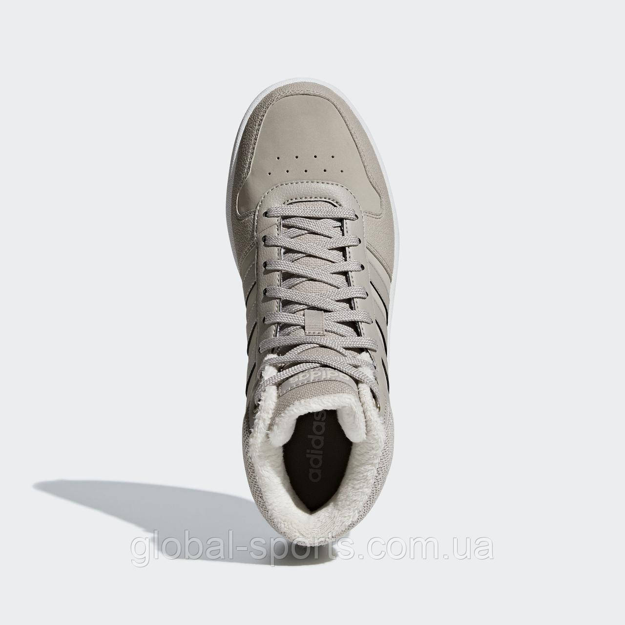 8aa2b9b4 Женские кроссовки Adidas Hoops 2.0 Mid W(Артикул:B42107): продажа ...