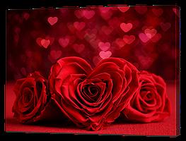 """Картина романтическая """"Алые розы"""""""