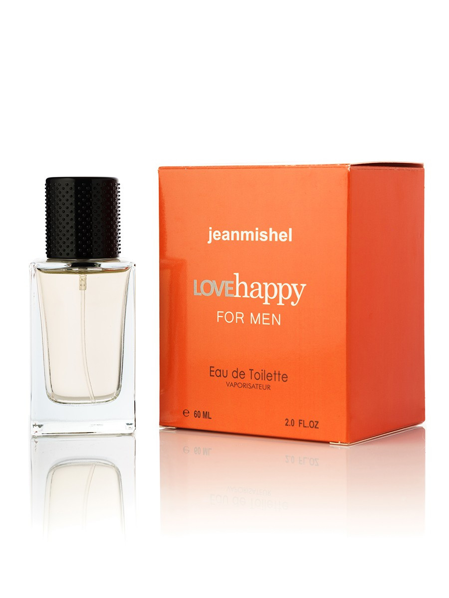 60 мл Міні-парфуми JEANMISHEL LOVE HAPPY FOR MEN (м) кубик 8