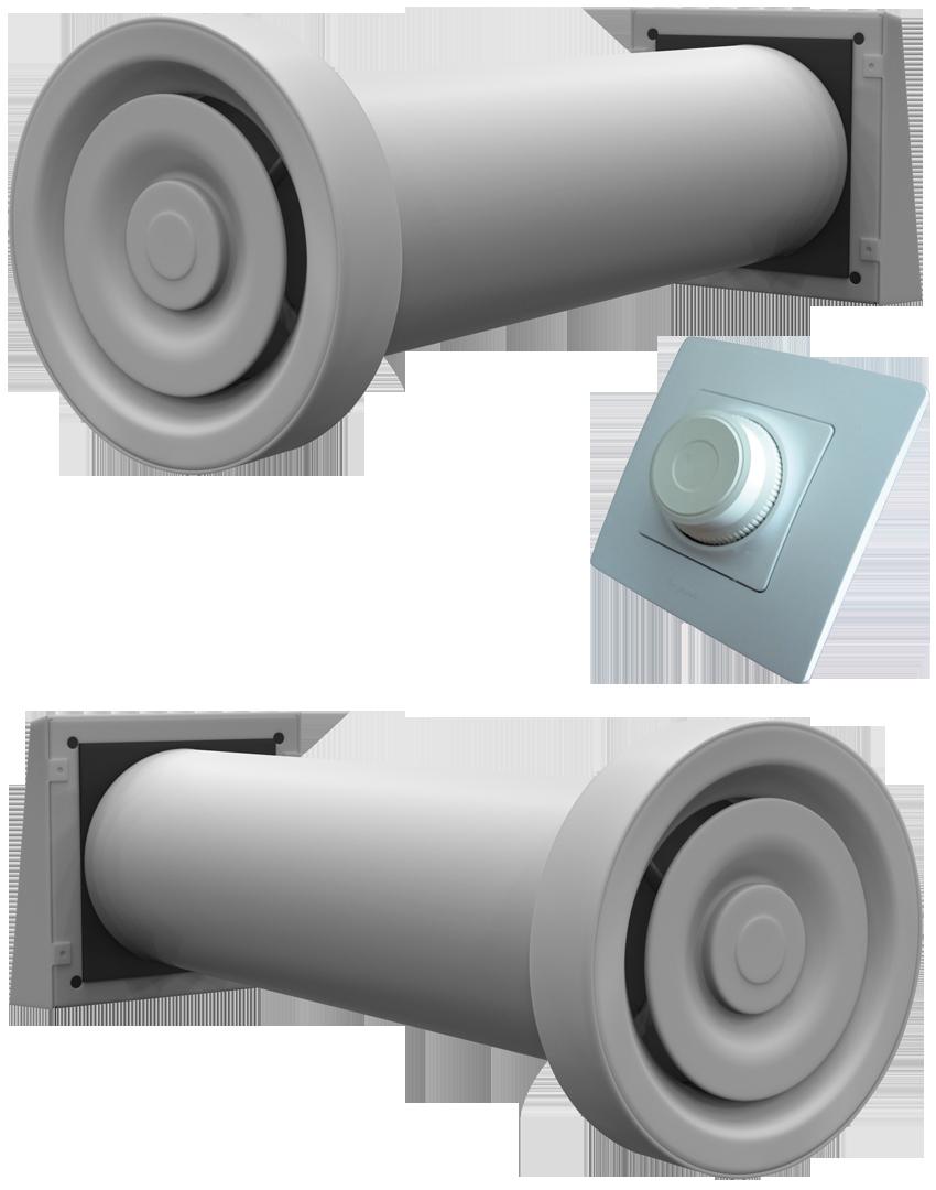 Рекуператоры воздуха для квартиры приток-вытяжка