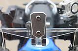 Лобовое стекло для мотоцикла (скутера) регулируемое, дополнительное ветровое стекло (спойлер)  270 мм * 122 мм, фото 10