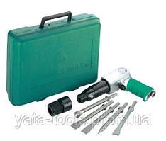 Набор пневматического инструмента молоток - 2100 уд/мин 283 л/мин и комплект насадок, 8 предметов