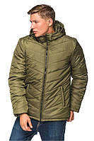 Зимняя мужская курточка хаки
