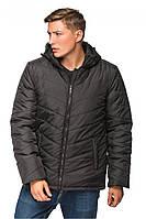 Зимняя мужская курточка черная