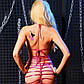 Сексуальное виниловое мини платье., фото 2