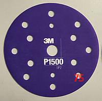 3М™34423 - Гибкий полировальный абразивный диск CROW, d150 мм, P1500