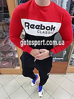Мужской спортивный костюм Reebok на флисе, фото 1