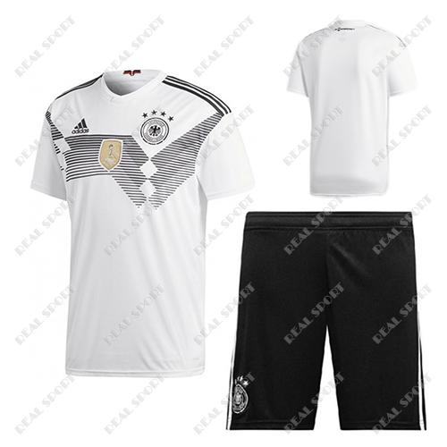 Детская футбольная форма Сборной Германии ЧМ 2018, Без номера. Основная  форма d20933bc33b