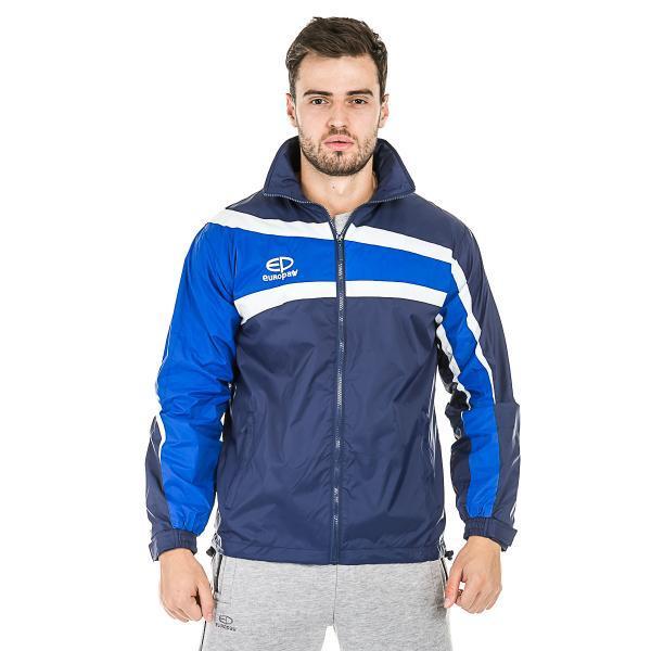 Куртка ветрозащитная Europaw TeamLine сине-темно синяя