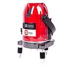 Уровень лазерный профессиональный, 5 лазерных головок, звуковая индикация INTERTOOL MT-3011, фото 2