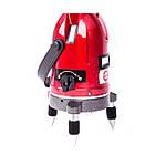Уровень лазерный профессиональный, 5 лазерных головок, звуковая индикация INTERTOOL MT-3011, фото 3