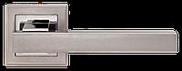Ручка дверная на розетке MVM Loft - Z-1290 BN/SBN (черный никель/матовый черный никель), фото 1