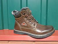 Зимние мужские ботинки на меху.р.40(стелька-26.5см).