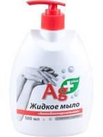 Жидкое мыло Антибактериальное 500мл Ag+