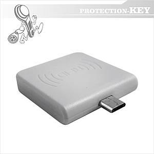 Считыватель RFID Micro USB для android 13.56 MHz