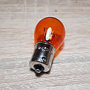 Лампа поворотов 12V 21W (оранжевая) Восход, фото 2