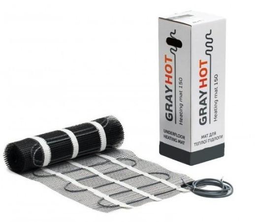 Теплый пол Gray Hot нагревательный мат 7,1 м2