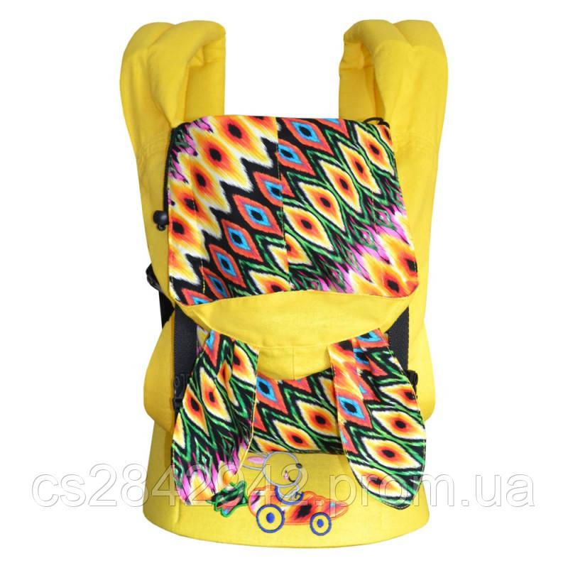 Ерго-рюкзак Sunny Зайчонок (лен с хлопком)