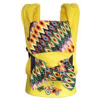 Ерго-рюкзак Sunny Зайчонок (лен с хлопком), фото 1