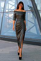 Шикарне плаття жіноче в 3х кольорах JD Бьянка