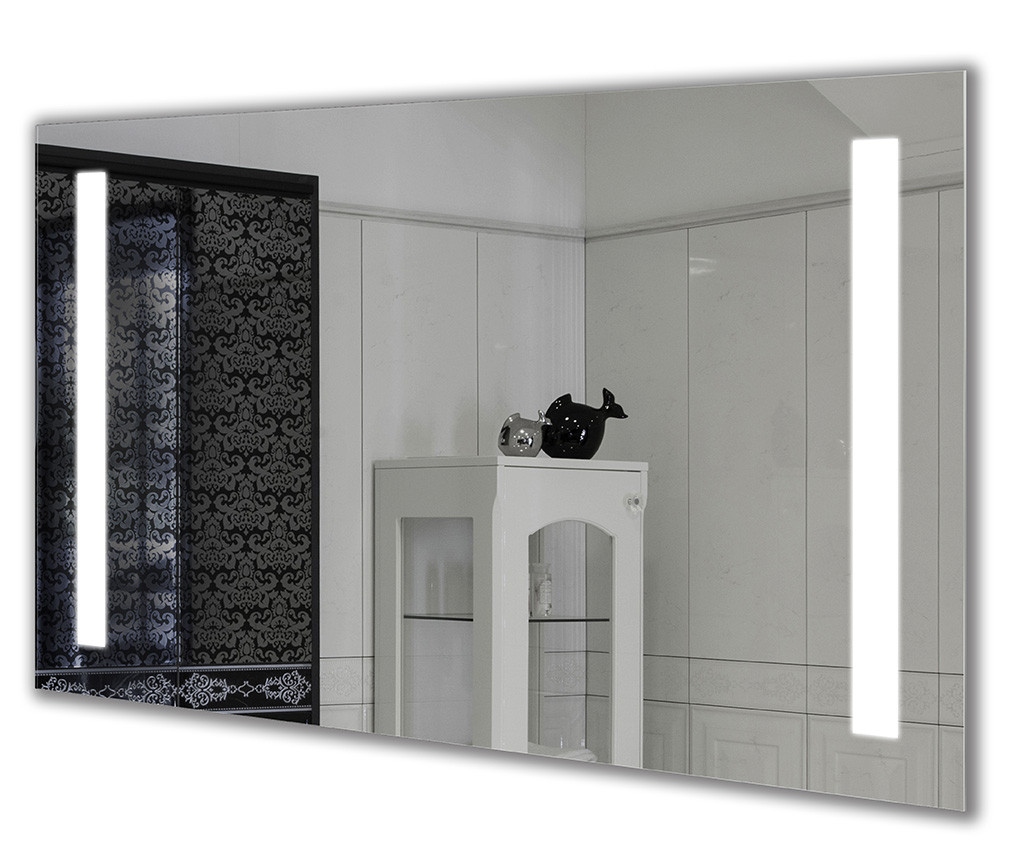 Зеркало с подсветкой Зеркало Led 50х80, настенное Сomfort Led-02 гримерное зеркало в ванную комнату
