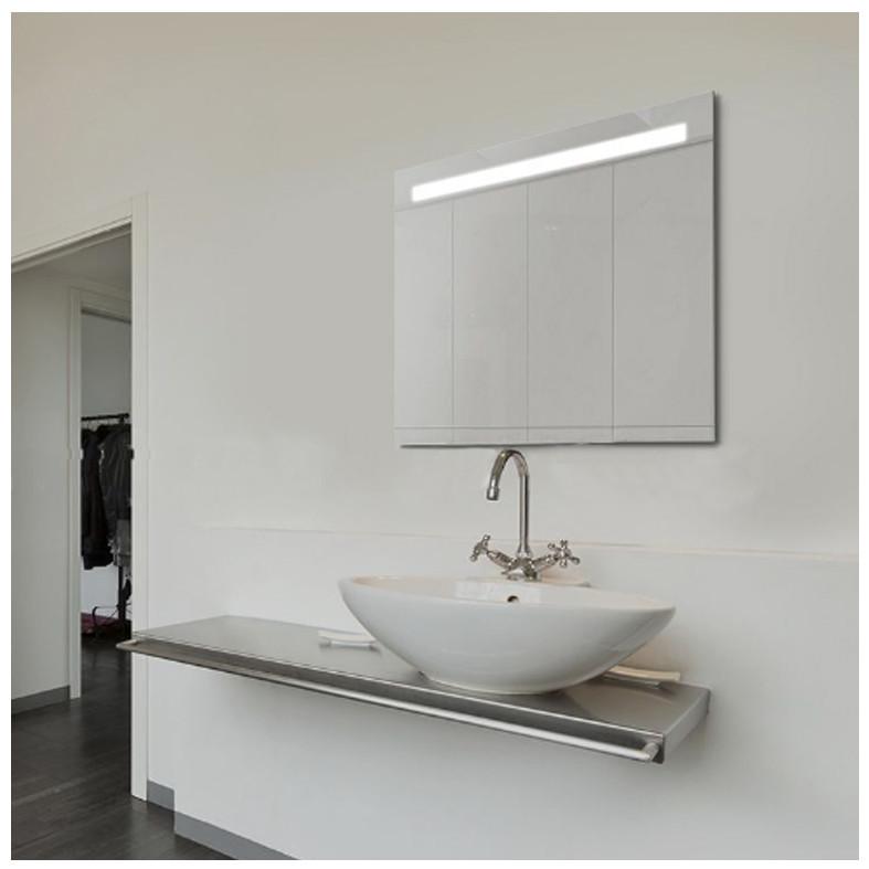 Зеркало с подсветкой Led, настенное зеркало 50х50 Сomfort Led-01 для ванной комнаты прихожей, спальни, офиса