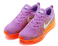 Женские кроссовки Nike Air Max Flyknit violet, фото 1