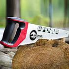 """Ножовка по дереву 400 мм с каленым зубом, 3-ая заточка 7 зуб.x1"""" INTERTOOL HT-3104, фото 5"""