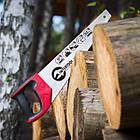 """Ножовка по дереву 400 мм с каленым зубом, 3-ая заточка 7 зуб.x1"""" INTERTOOL HT-3104, фото 6"""