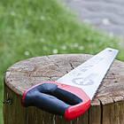 """Ножовка по дереву 400 мм с каленым зубом, 3-ая заточка 7 зуб.x1"""" INTERTOOL HT-3104, фото 7"""