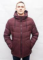 Мужской зимний пуховик куртка парка молодежная спортивная короткая тёплая