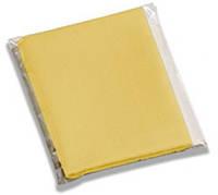 Салфетки микрофибра Силк-T для влажной и сухой уборки 5шт. 30х40см Италия, желтые