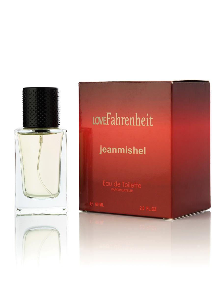 60 мл Мини-парфюм  JEANMISHEL LOVE FAHRENHEIT (м) кубик 24
