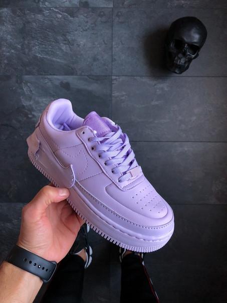 55308c56 ... фото Женские розовые кроссовки Nike Wmns Air Force 1 Jester XX 'Violet  Mist', ...