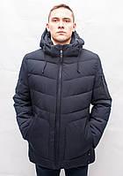 Мужской зимний пуховик куртка парка спортивная классика молодежная короткая