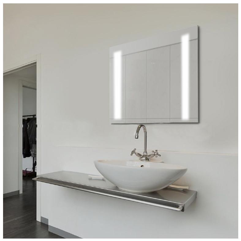 Зеркало с подсветкой Led, зеркало настенное 50х50 Сomfort Led-02, зеркало в ванную комнату