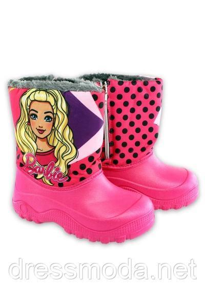Сноубутсы для дівчаток Barbie 24-31 р. р.