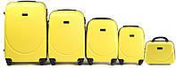 Комплект пластиковых чемоданов Wings 310-5 на 4 колесах