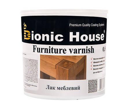 Bionic House мебельный лак 2,5л полуматовый