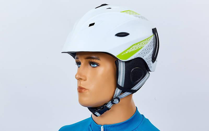 Шлем горнолыжный с механизмом регулировки MOON RT-ZEL-MS-6287-W