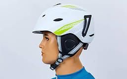 Шлем горнолыжный с механизмом регулировки MOON RT-ZEL-MS-6287-W, фото 3