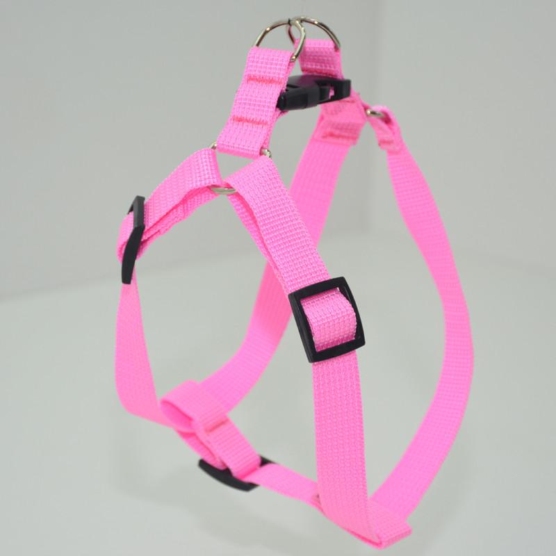 Шлея для животных Лорик 2,0 розовый