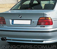 "Накладка на задний бампер BMW Е39 ""АС Schnitzer"" (До рестайл), Юбка задняя БМВ E39"