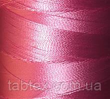 Нитка шелк для машинной вышивки embroidery 120den. №В-108(розов.)(МН) 3000 ярд