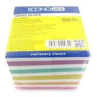 Бумага для заметок Economix, 90х90, 1000 листов