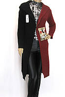 кардиган вязаний з капюшоном
